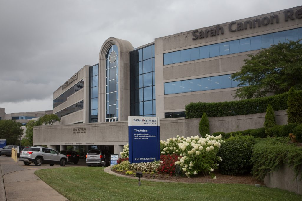 HCA Healthcare's TriStar Centennial Medical Center in Nashville is one of eight sites in the United States, Canada and Europe that are recruiting patients for the CRISPR study.