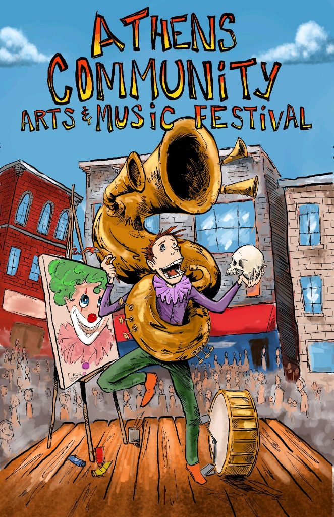 Language In 45 And 47 Stella Street: Athens Community Arts & Music Festival Set For Aug. 17