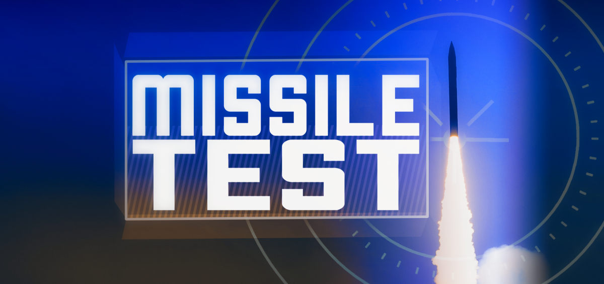 Missile Test Graphic