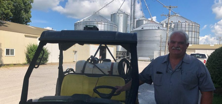 Western KY farmer Tom Folz fears a prolonged trade war could push some farmers out of business.