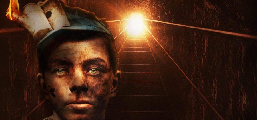 Mine Wars - miner at bottom of tunnel steps
