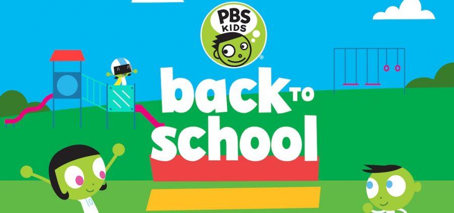 PBS Kids Back to school logo