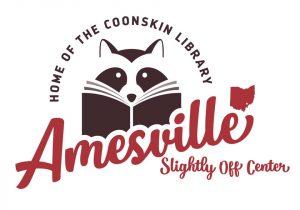 Amesville library logo