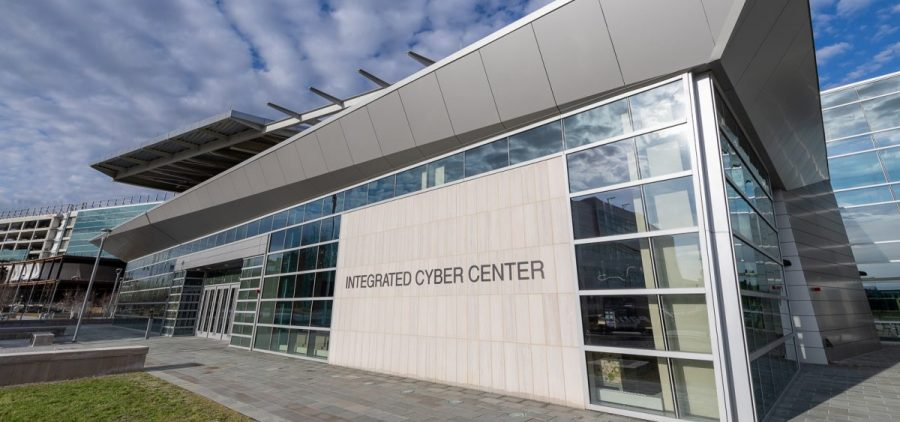 The new Integrated Cyber Center at the NSA. The agency describes the four main cyber threats as coming from China, Russia, Iran and North Korea.