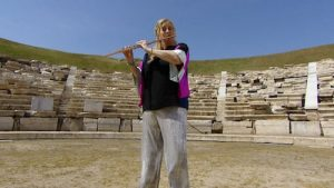 Live from Lincoln center: Odyssey- The Chamber Music Society in Greece flutist