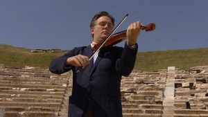 Live from Lincoln center: Odyssey- The Chamber Music Society in Greece violinist