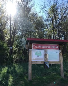 Ona Anderson Trail sign