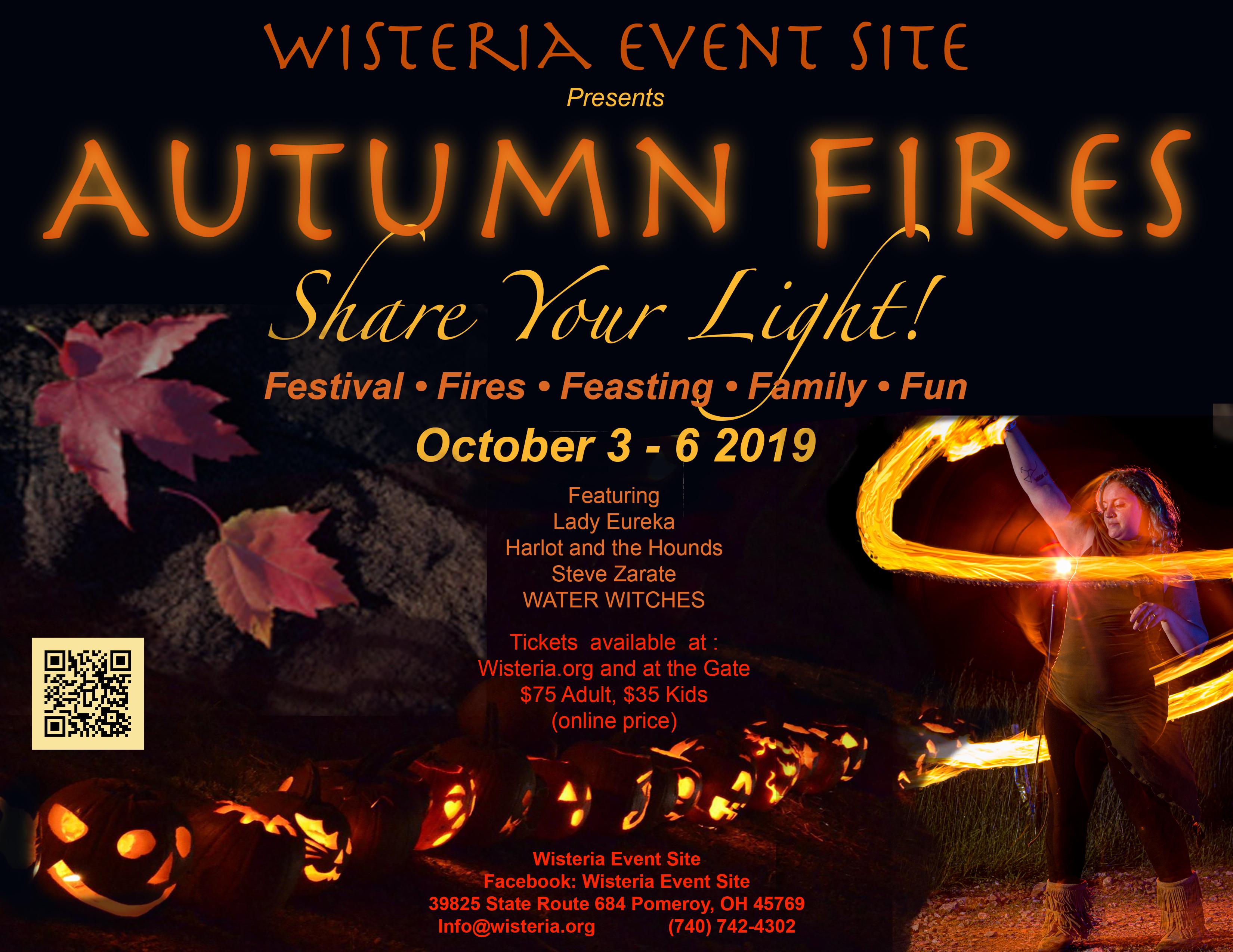 Autumn Fires flier