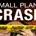 A graphic for a small plane crash