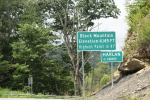 Black Mtn. holds both natural beauty and scars of resource extraction.