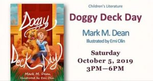 Flier for Doggy Deck Day book