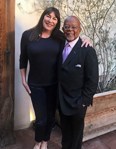 Henry Louis Gates, Jr. and Anjelica Huston