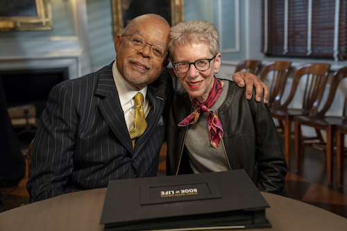 Henry Louis Gates, Jr. with journalist Terry Gross