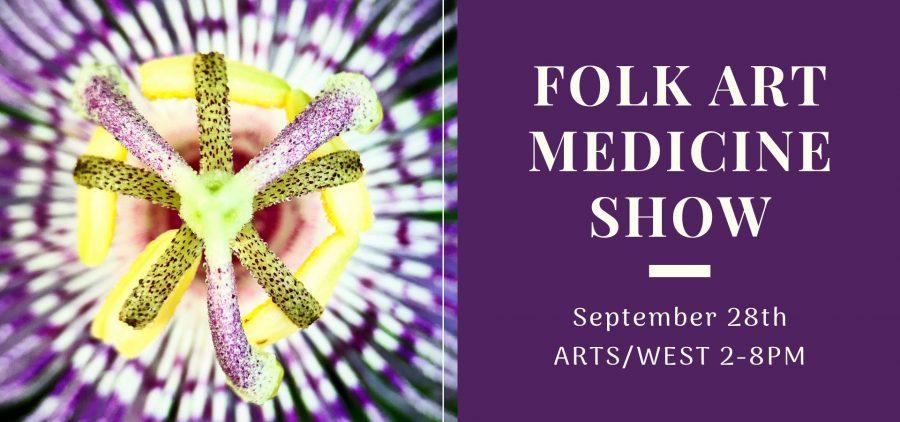 Folk Art Medicine Show flier