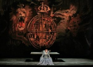 A scene from the Met performance of Donizetti's Maria Stuarda