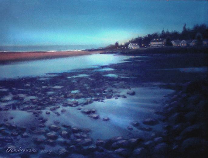 Maine Twilight piece