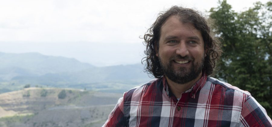 Matt Hepler of the advocacy group Appalachian Voices.