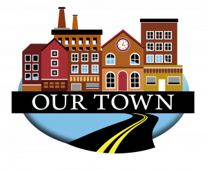 Our Town historical documentary series logo