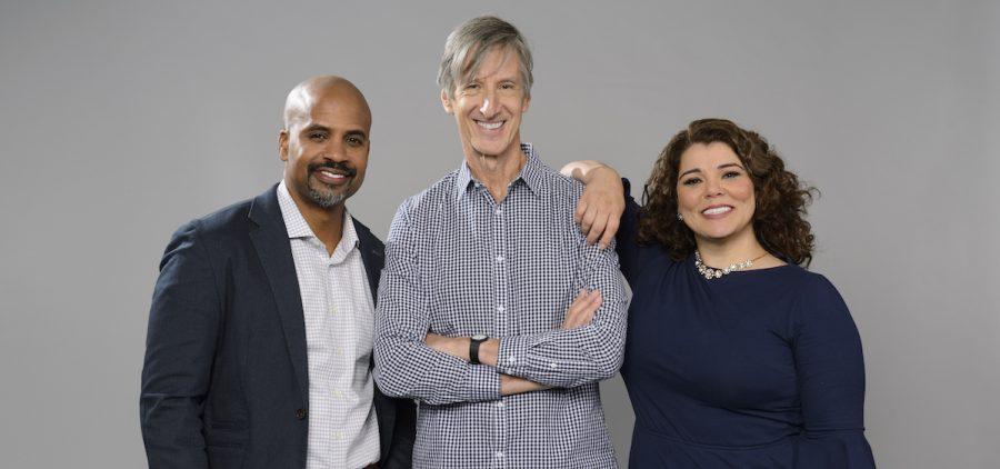 Masud Olufani, Andy Borowitz and Celeste Headlee - RETRO REPORT on PBS