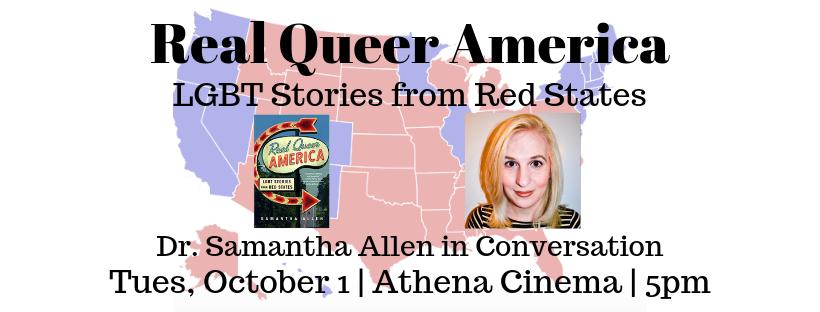 Real Queer America flier