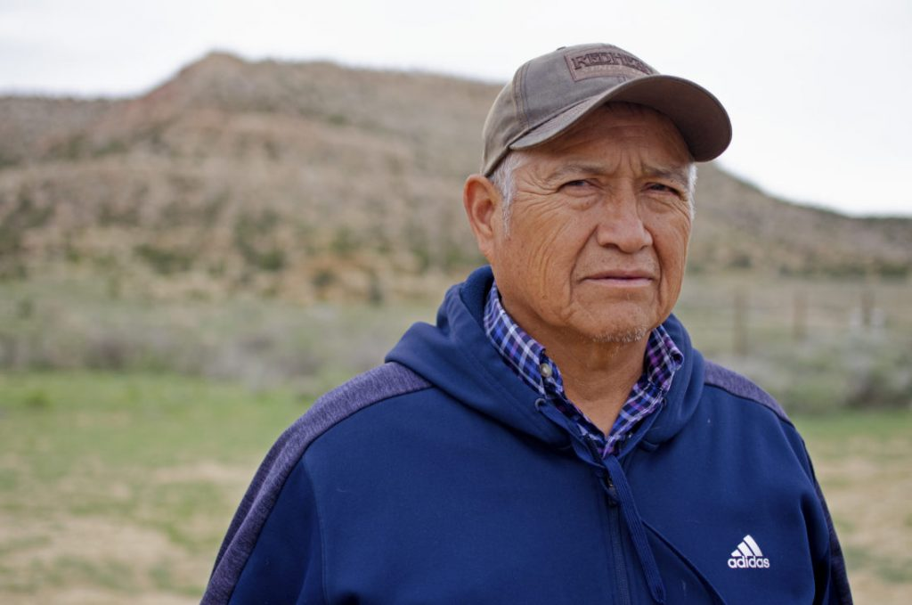 Thompson Bell, a member of the Navajo Nation, spent five years as a mechanic in a uranium mine. Many of his coworkers have since died from cancer, he says.