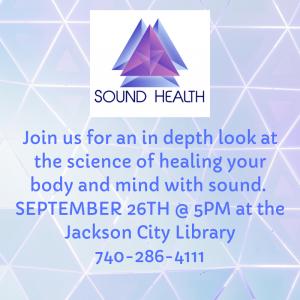 Sound Health flier