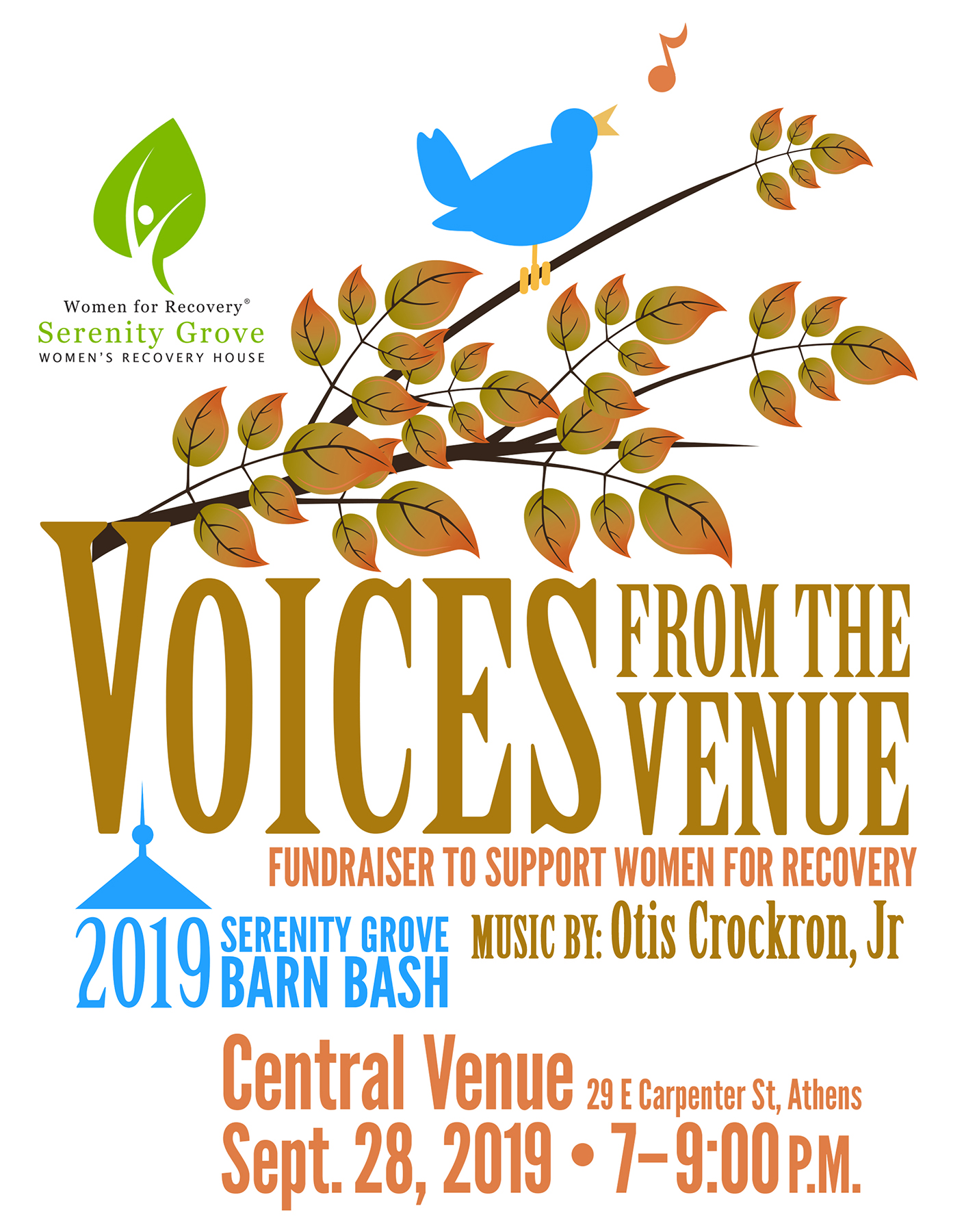 Voices from the venue flier