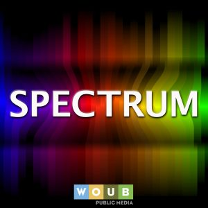 Podcast logo, Spectrum