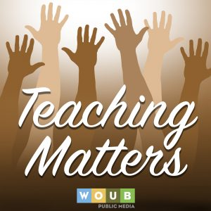 Podcast logo, Teaching Matters