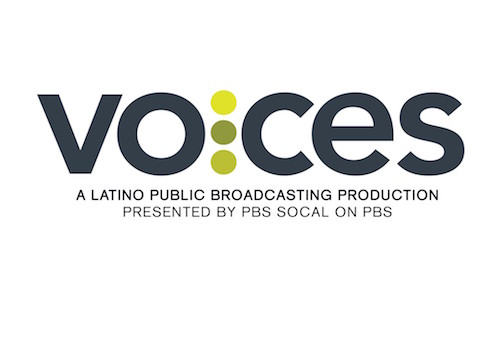 logo for VOCES on PBS