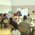 Athens community members met to discuss a possible relocation of the farmers market