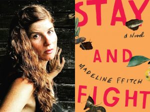 "Madeline ffitch and her book ""Stay and Fight"""