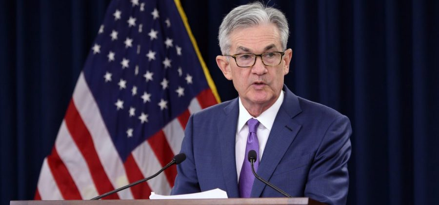 "Federal Reserve Chairman Jerome Powell has said he's not predicting a recession, but the trade war could hurt business spending. ""Uncertainty around trade policy is causing some companies to hold back now on investment,"" he said this month."