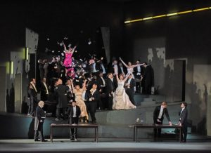 A scene from the Met performance of Massenet's Manon