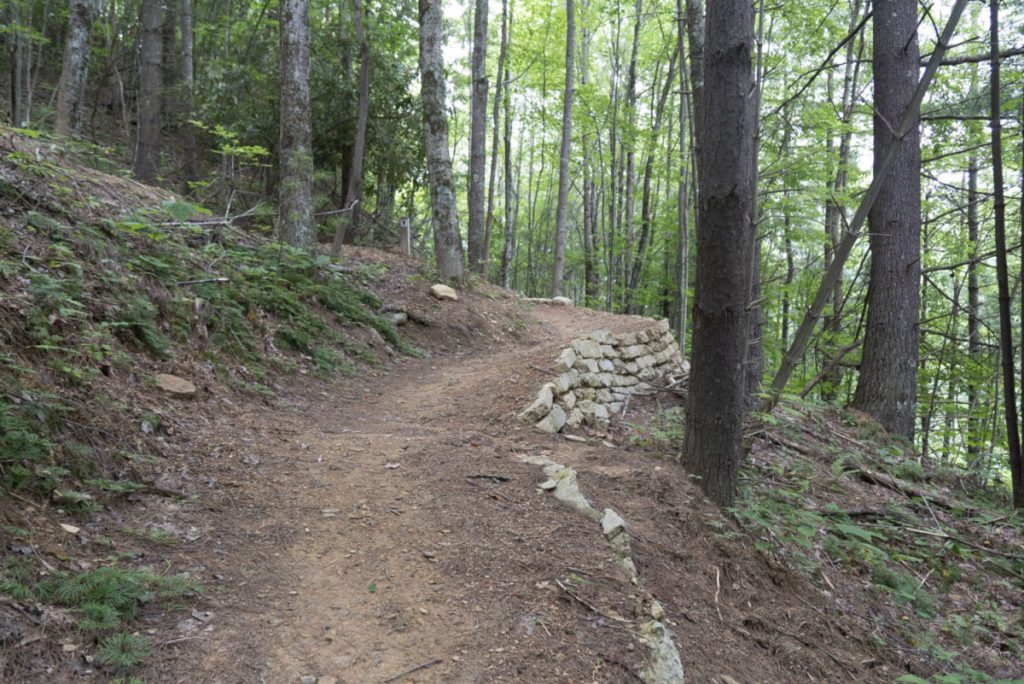 New bike and hiking trails at Flag Rock Recreation Area in Norton, Va.