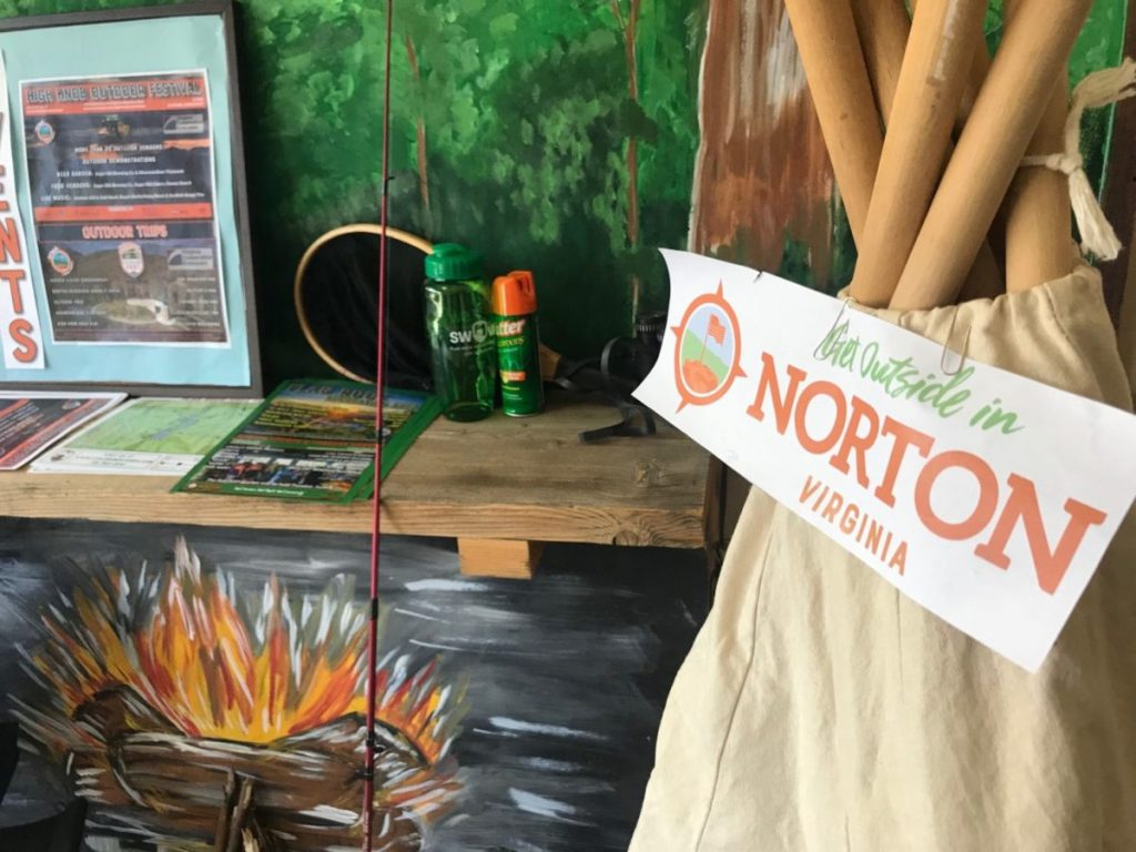 "Norton, Virginia has launched a ""Get Outside"" campaign showcasing its natural resources."