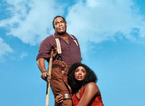 A promotional photo for the Met performance of The Gershwins' Porgy and Bess