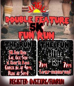 Doube Feature 5K Fun Run flier