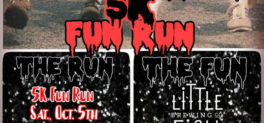 Doube Feature 5K Fun Run flier