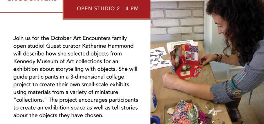 Family Art Encounters flier