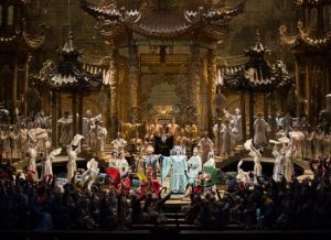 A scene from the Met performance ofPuccini's Turandot