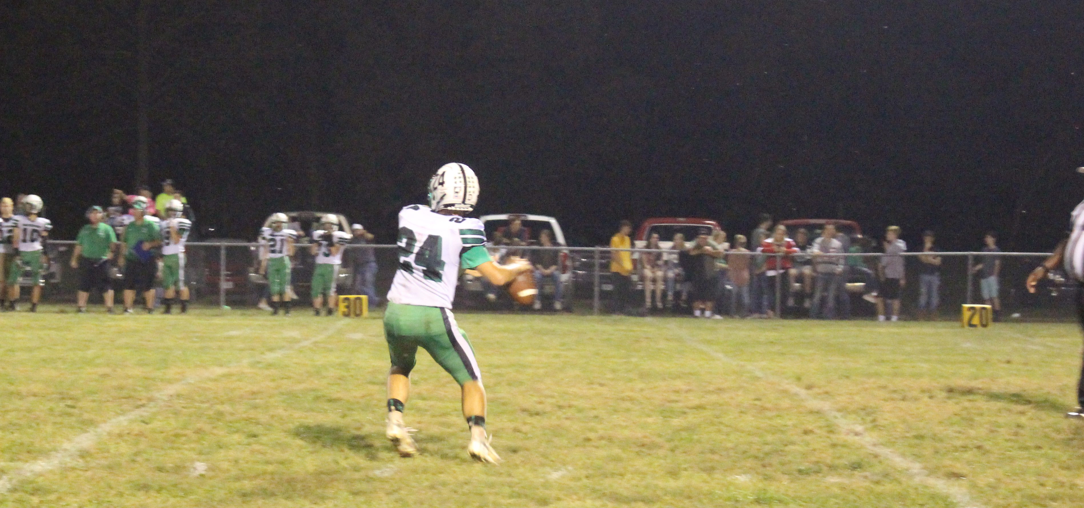 Eastern Eagles quarterback