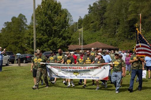 UMWA members commemorate the Battle of Blair Mountain.