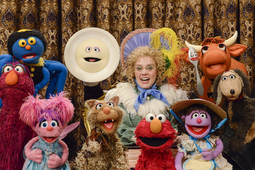Kate Mckinnon on Sesame Street