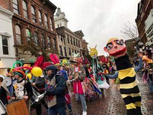 Honey for the Heart parade