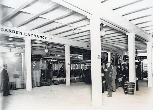 Park Street Subway Station in Boston