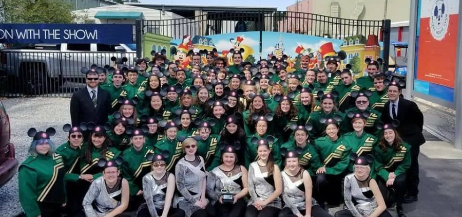 The Athens Marching band at Disney