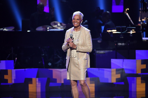 Dionne Warwick performs onstage during the GRAMMY Salute to Music Legends