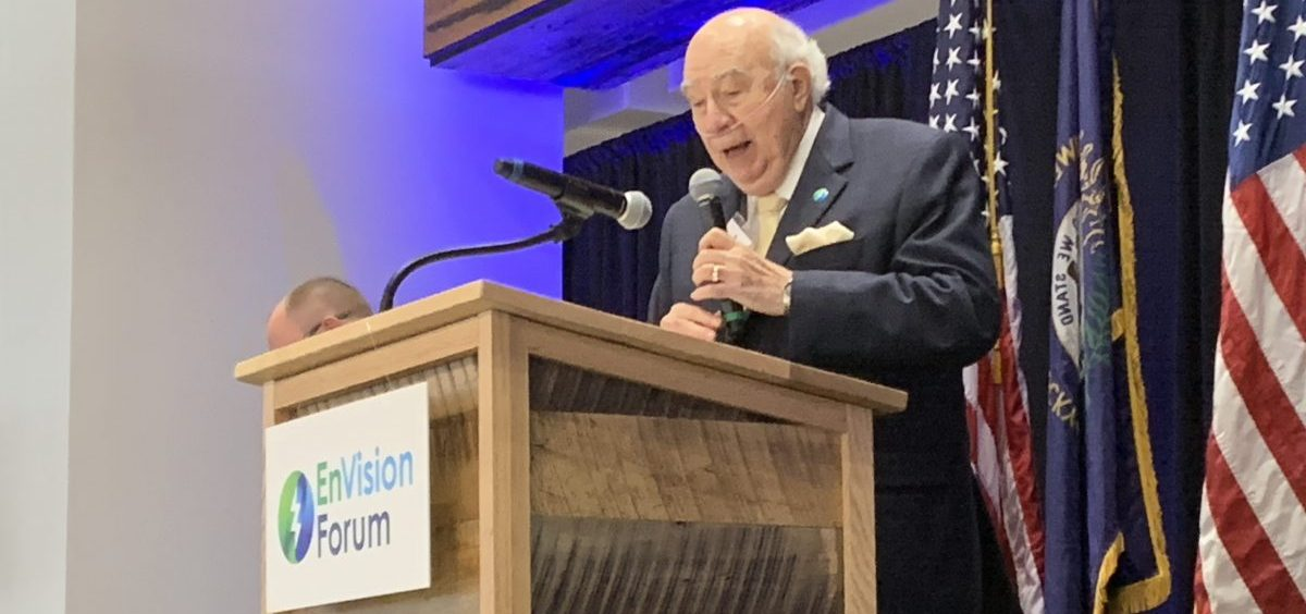 Murray Energy CEO Bob Murray speaks at the EnVision Forum