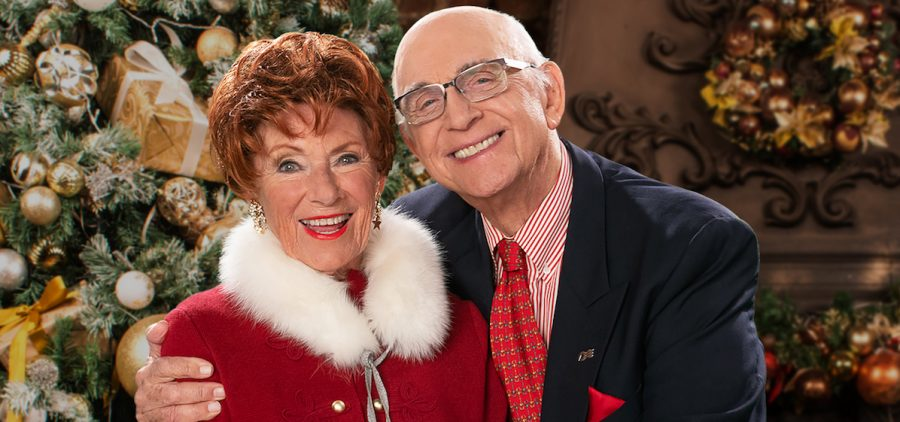 Marion Ross and Gavin MacLeod hosts of a Classic Christmas